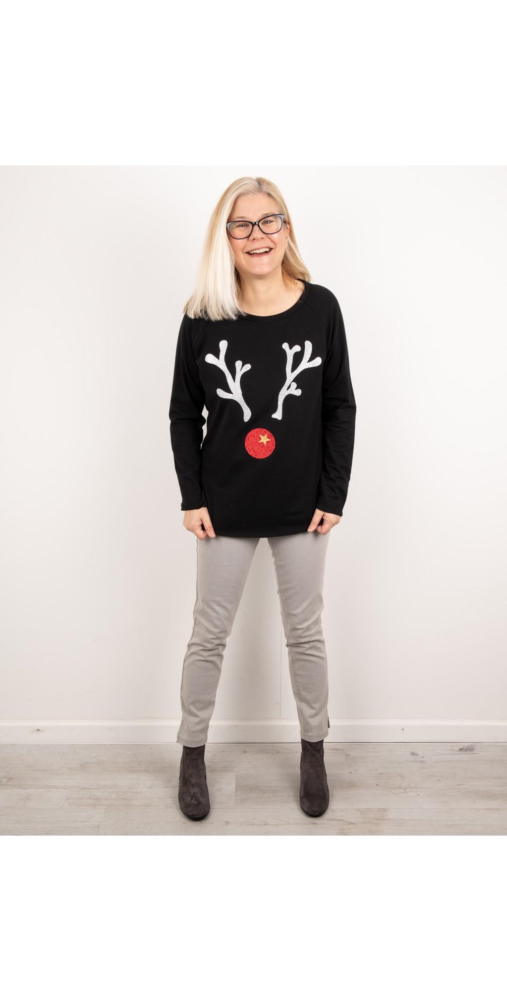 Tasha Giant Reindeer Top main image