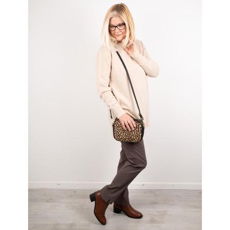 Amazing Woman  Fillipa Round Neck Cashmere Mix Knit - Beige