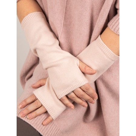 Chalk Angela Fingerless Glove / Wrist Warmer  - Pink