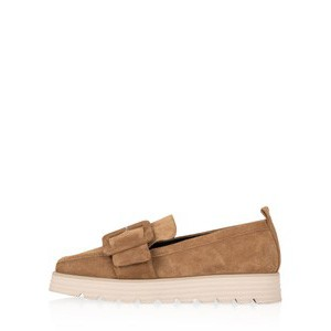 Lea XXl Suede Buckle Loafer main image