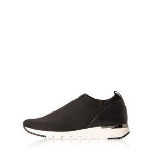 Caprice Footwear KajaFlu Low Top Sock Trainer  - Black