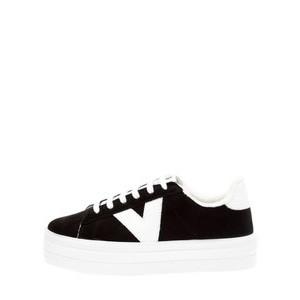 Victoria Shoes Barcelona Canvas Flatform Trainer Shoe