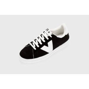 Barcelona Canvas Flatform Trainer Shoe main image