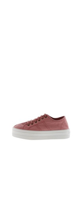 Victoria Shoes Barcelona Organic Cotton Washable Flatform Trainer Shoe  Nude 170