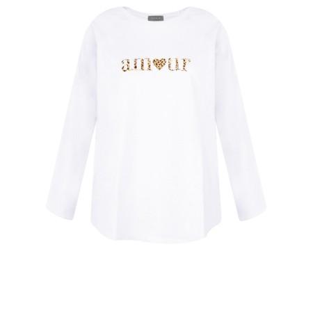 Chalk Gemini Exclusive ! Tasha Amour Top - White