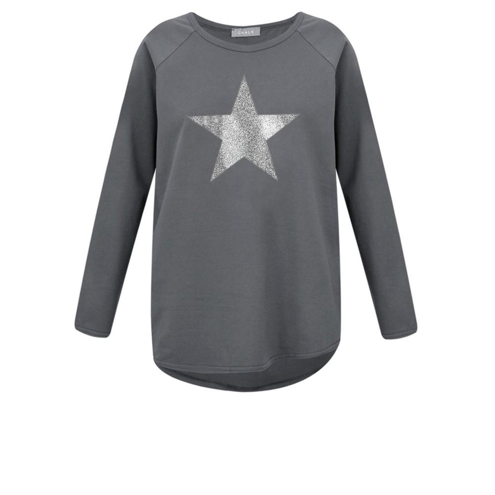 Chalk Tasha Star Top Charcoal / Gunmetal Glitter