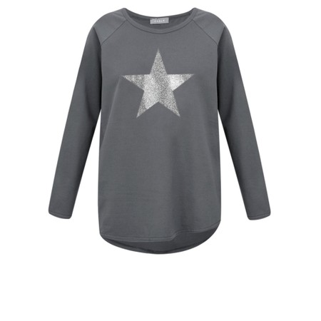 Chalk Tasha Star Top - Grey