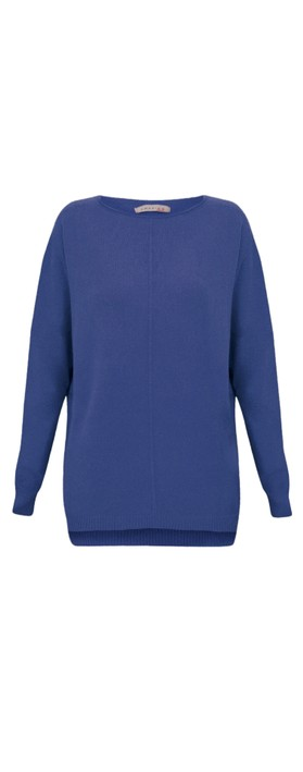 Amazing Woman  Maggie Seam Front Supersoft Jumper Marina