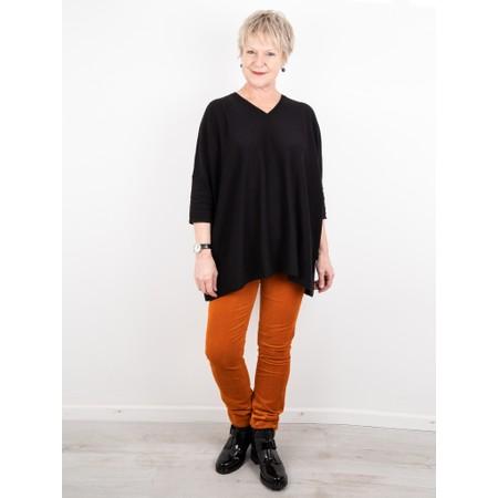 Amazing Woman  02 Velvet Straight Leg Jean - Orange