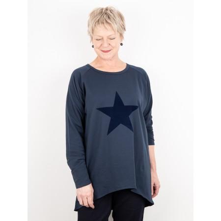 Chalk Gemini Eclusive ! Robyn Star Top - Blue