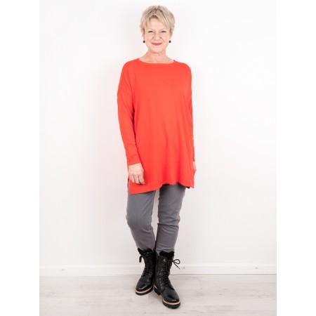Amazing Woman  Wells Round Neck Slouch Knit - Orange