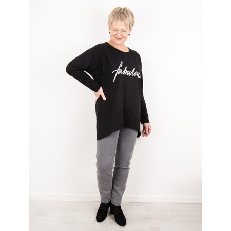 Chalk Robyn Fabulous Top - Black