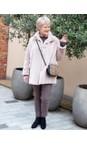 Amazing Woman  Smoke Cosy Faux Fur Jacket