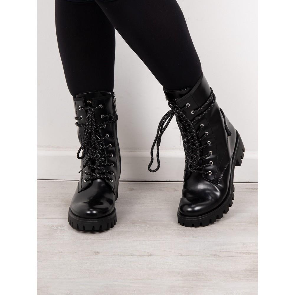 Tamaris  Brush Biker Style Boot Black