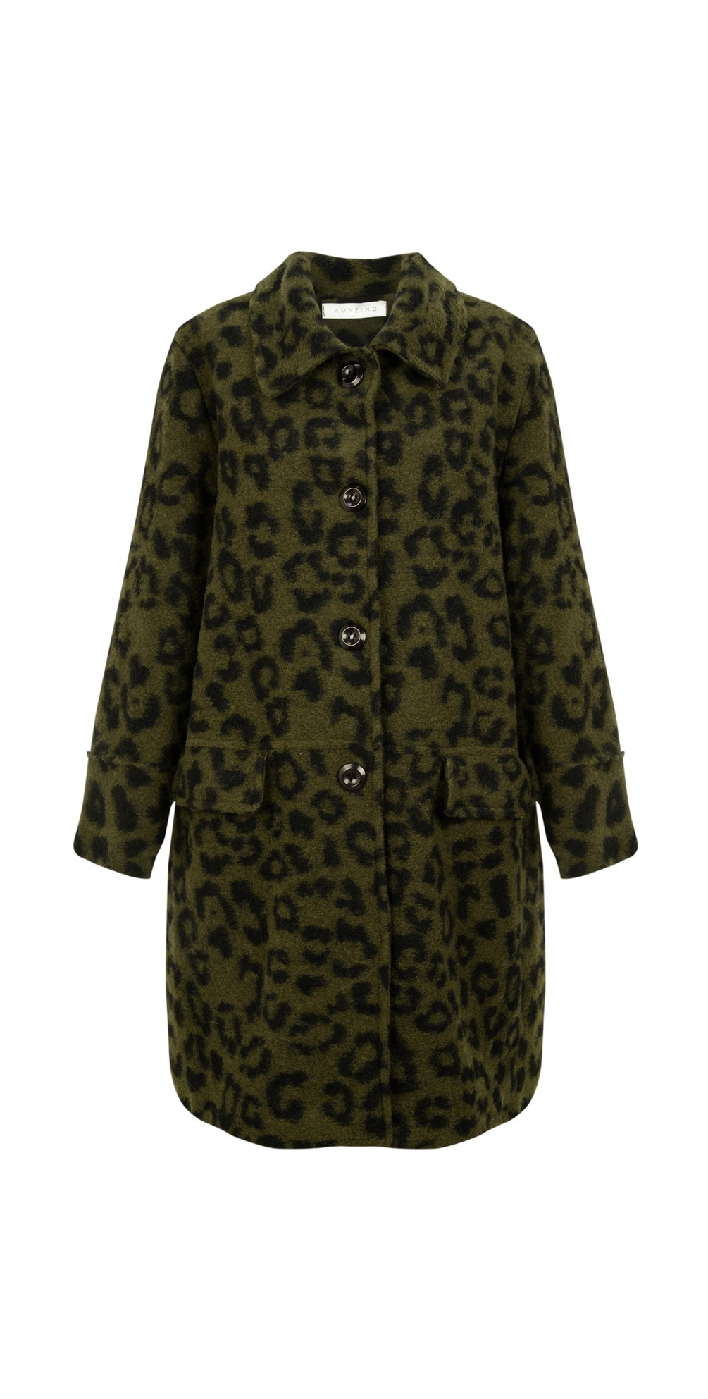 Mila Boiled Wool Coat main image
