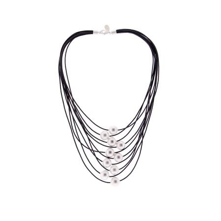 Rosanna Barcelona Aire Multi Strand Necklace  - Grey