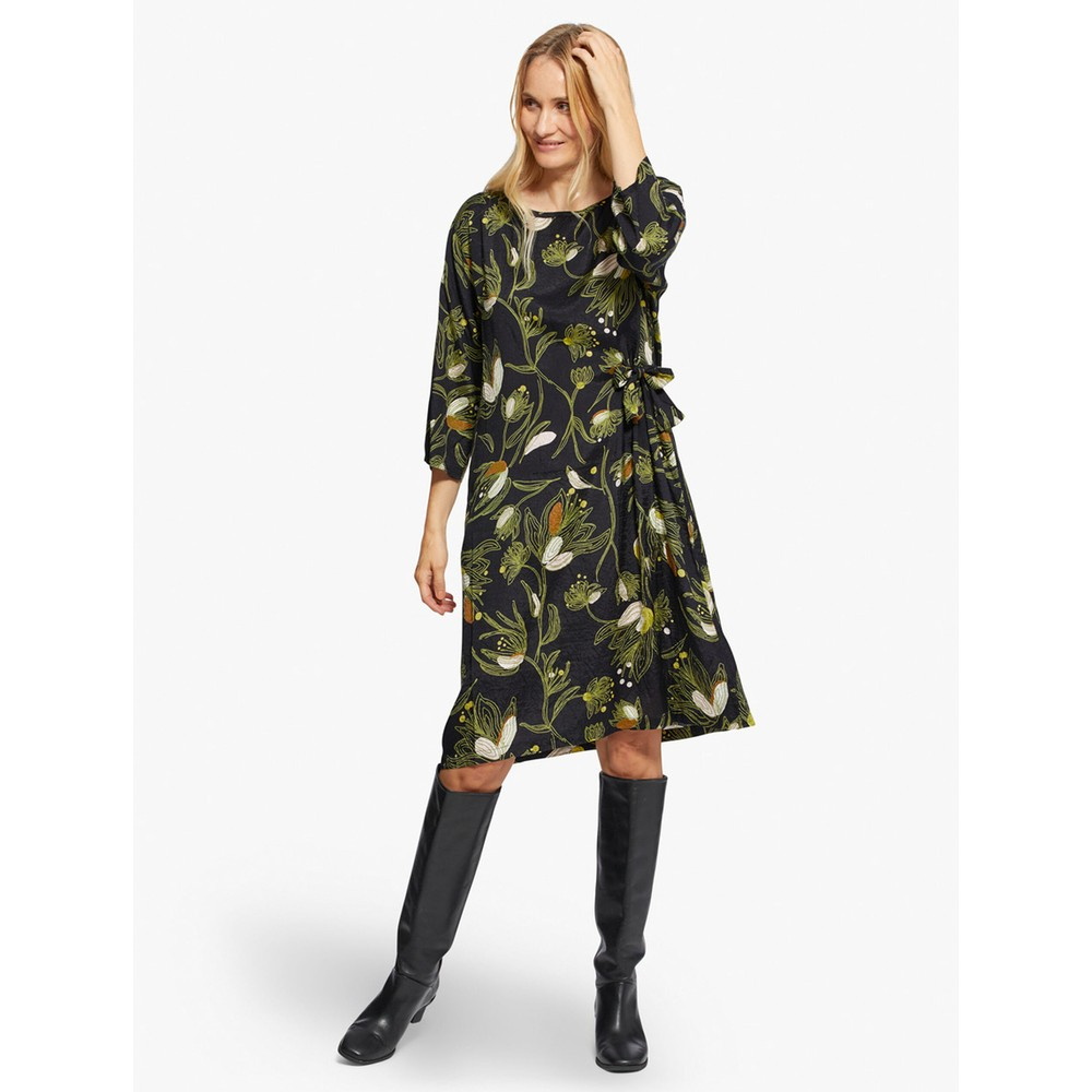 Masai Clothing Nonie Dress Green Sheen