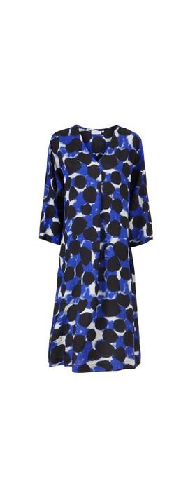Masai Clothing Nodetta Dress Clematis Blue