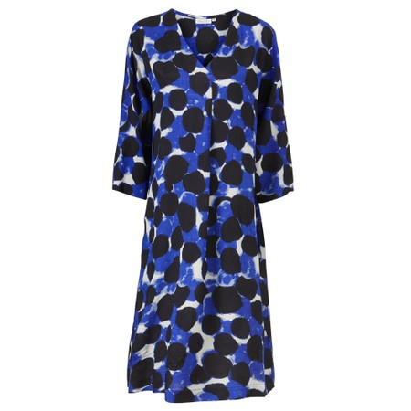Masai Clothing Nodetta Dress - Blue