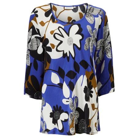 Masai Clothing Kia Bias Top - Blue