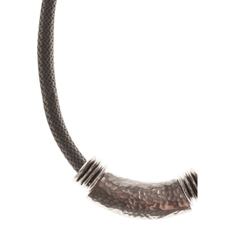 Strata Capricorn Short Necklace - Grey