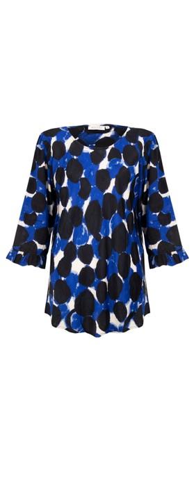 Masai Clothing Bet Top Clematis Blue