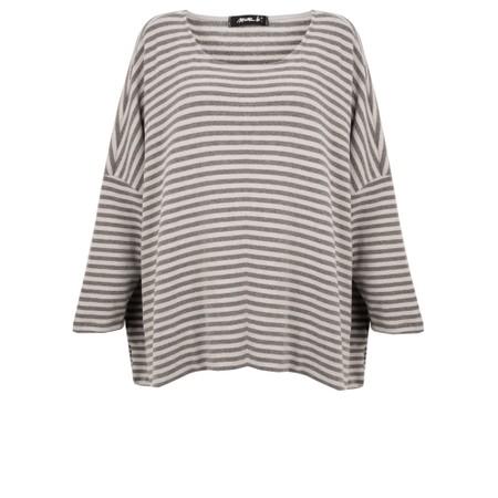 Mama B Siena Asymmetric Knit Top - Beige
