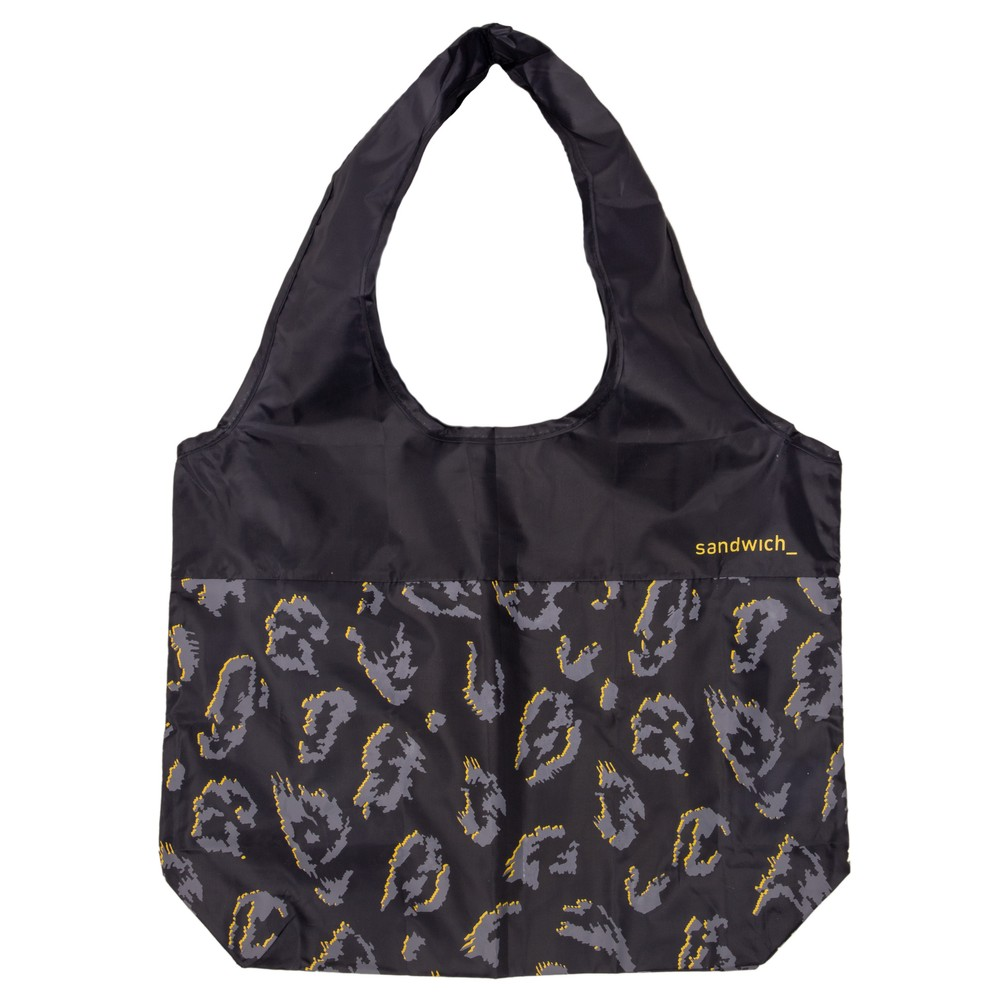 Sandwich Clothing Leopard Print Shopper Navy
