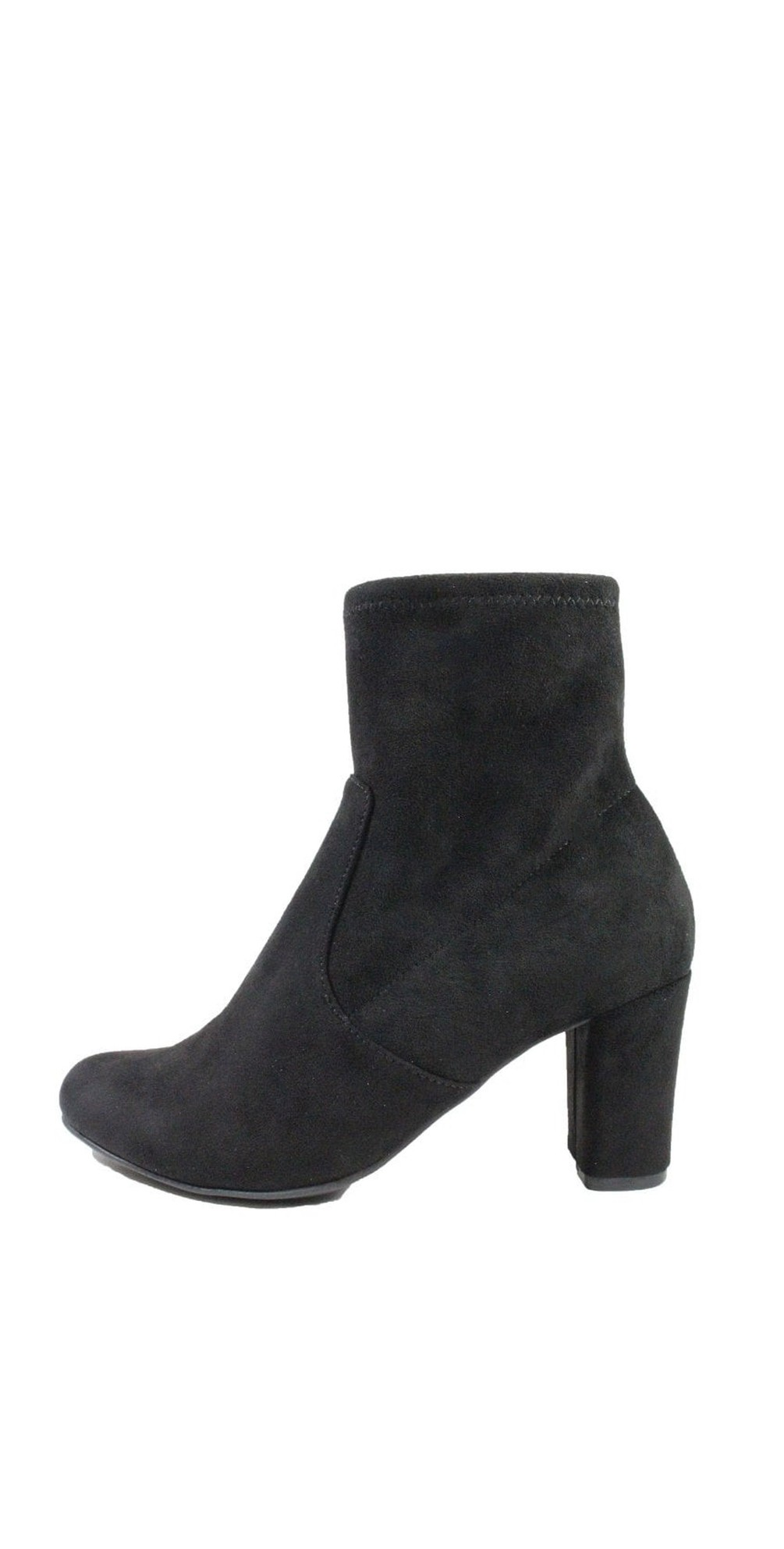 Britt Stretch Faux Suede Ankle Boot  main image
