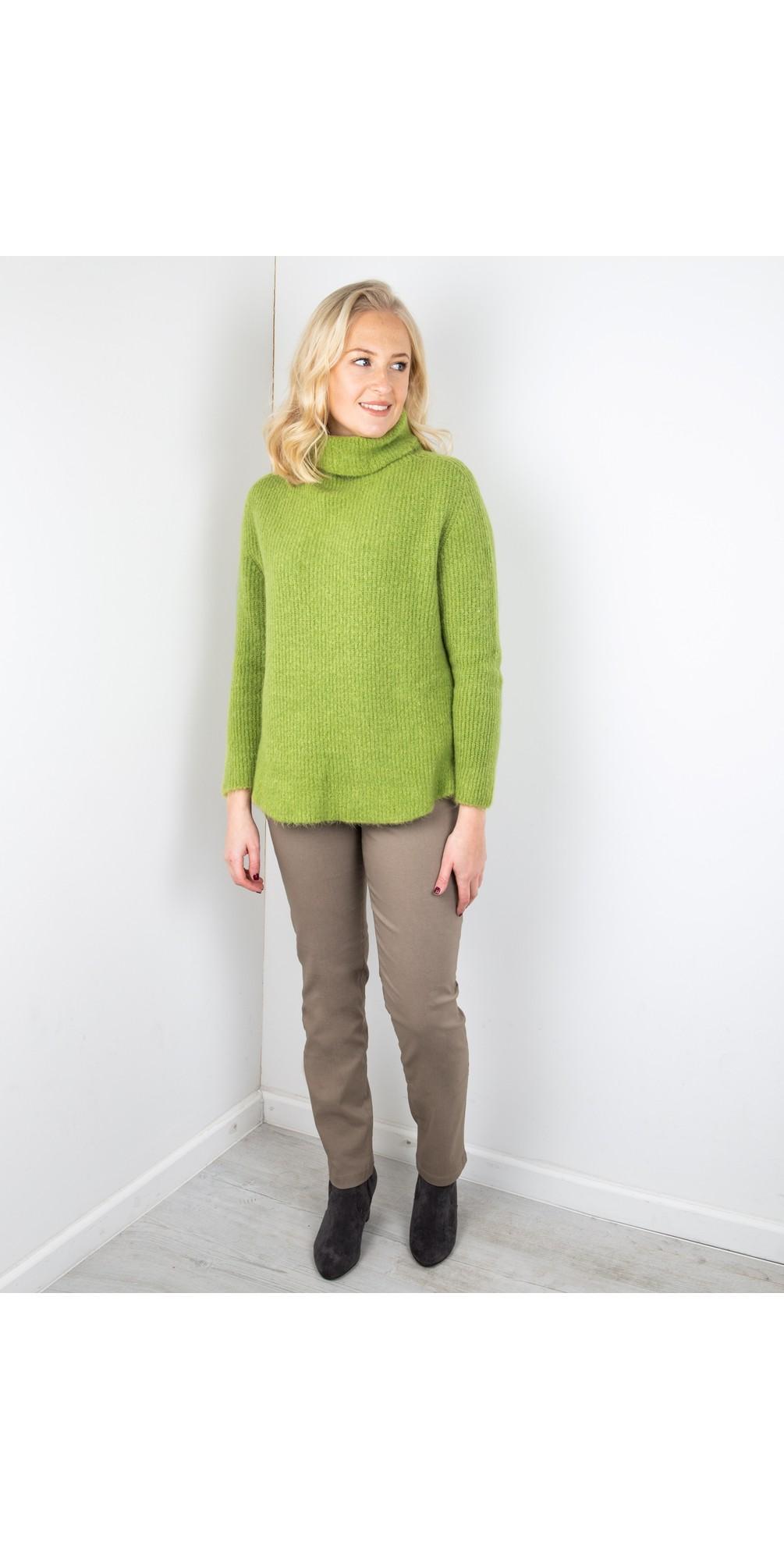 Bella  Taupe Slim Fit 78cm Full Length Trouser main image