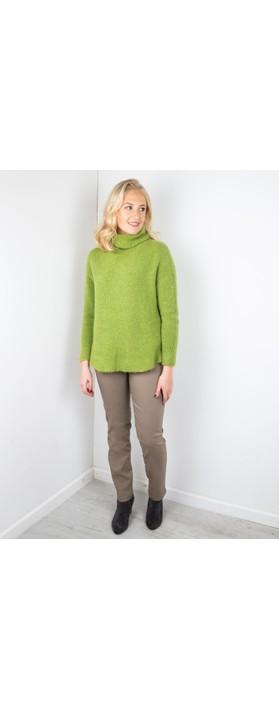 Robell Bella  Taupe Slim Fit 78cm Full Length Trouser Taupe 17