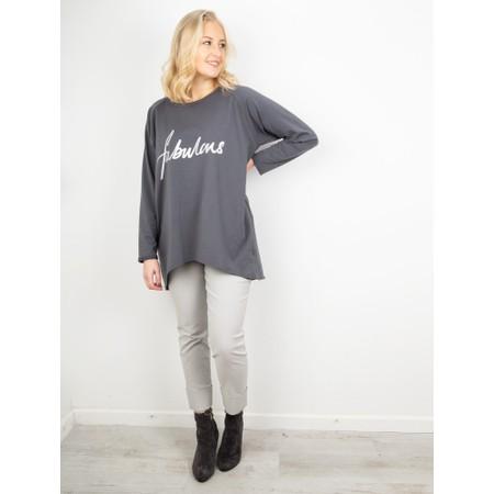 Chalk Gemini Exclusive ! Robyn Fabulous Top - Grey