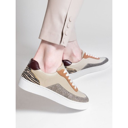 Vanessa Wu  Chrissy Trainer Shoe - Multicoloured