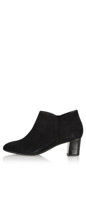Gemini Label Shoes Isco Suede Ankle Boot Black