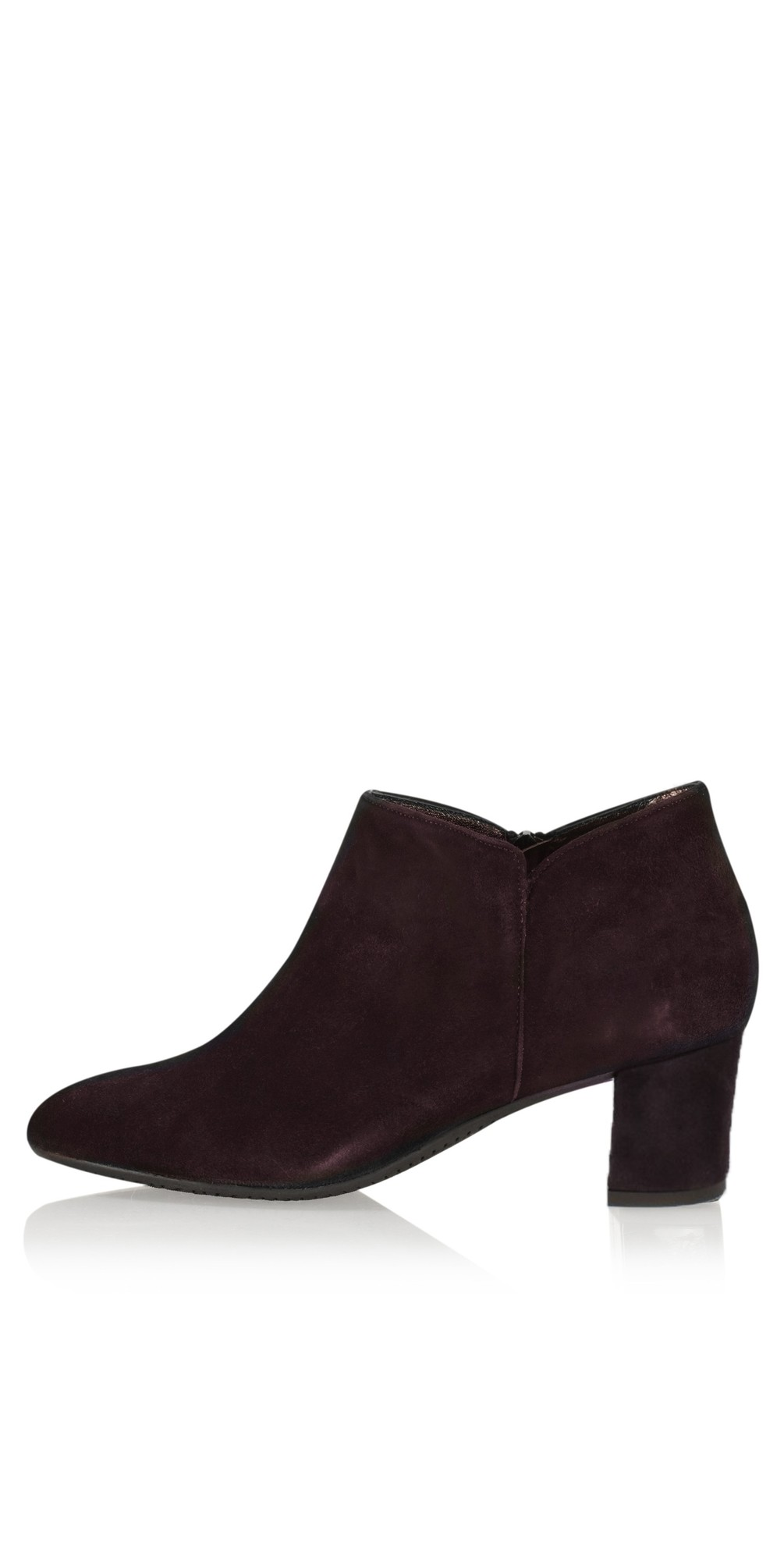 Isco Brown Suede Ankle Boot main image