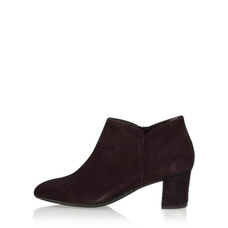 Gemini Label Shoes Isco Brown Suede Ankle Boot - Brown
