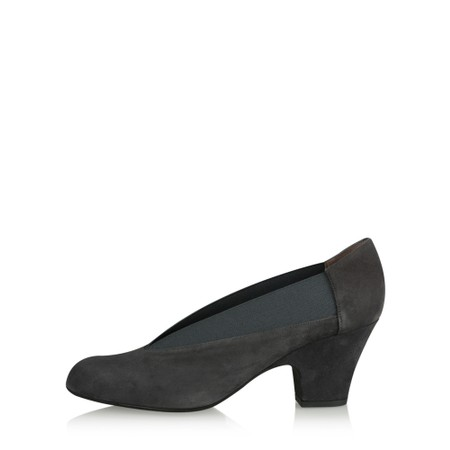 Gemini Label Shoes Brumabe Anthracite Suede Shoe - Grey