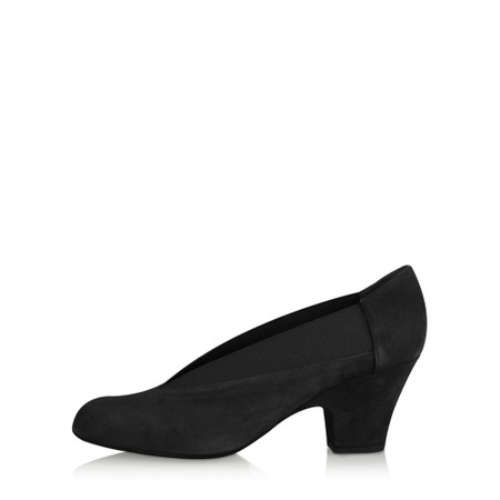 Gemini Label Shoes Brumabe Black Suede Shoe - Black