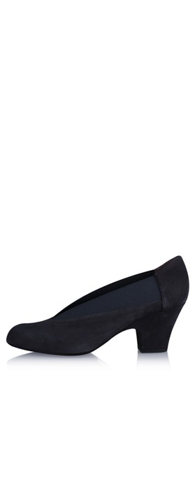 Gemini Label Shoes Brumabe Navy Suede Shoe Marino Navy