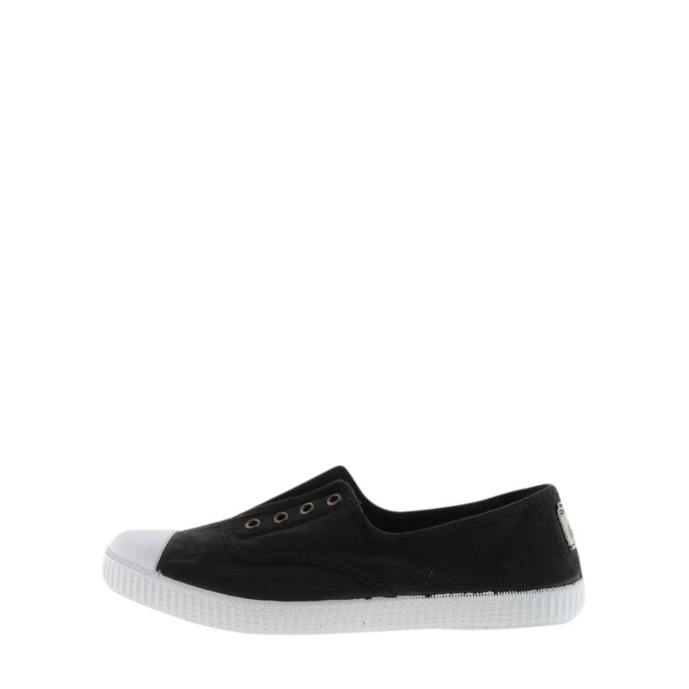 Victoria Shoes Dora Organic Cotton Washable No Lace Pump Black 10