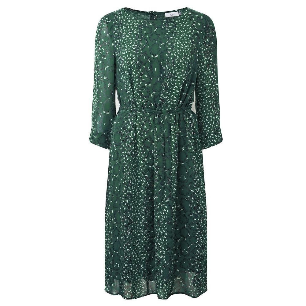 Adini Emmie Lined Dress Emerald