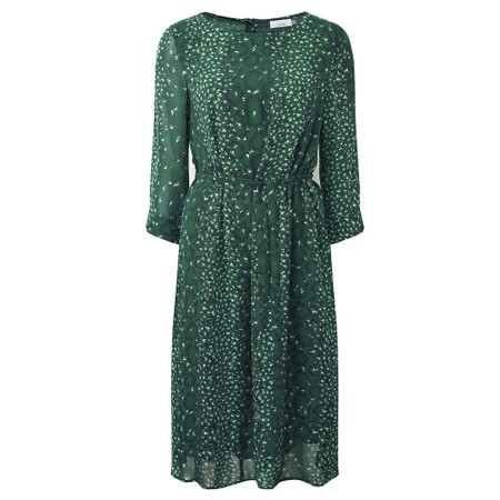 Adini Emmie Lined Dress - Green