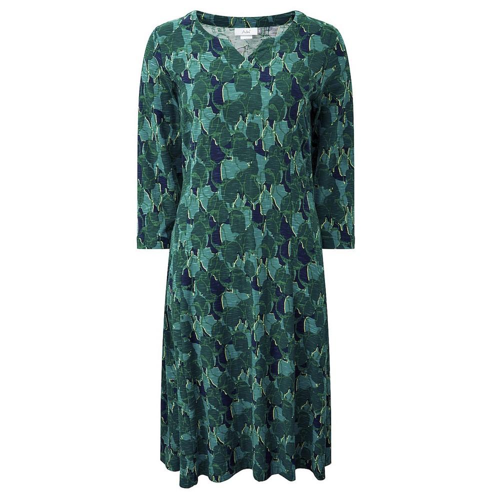 Adini Sophie Fitted Dress Navy / Bottle