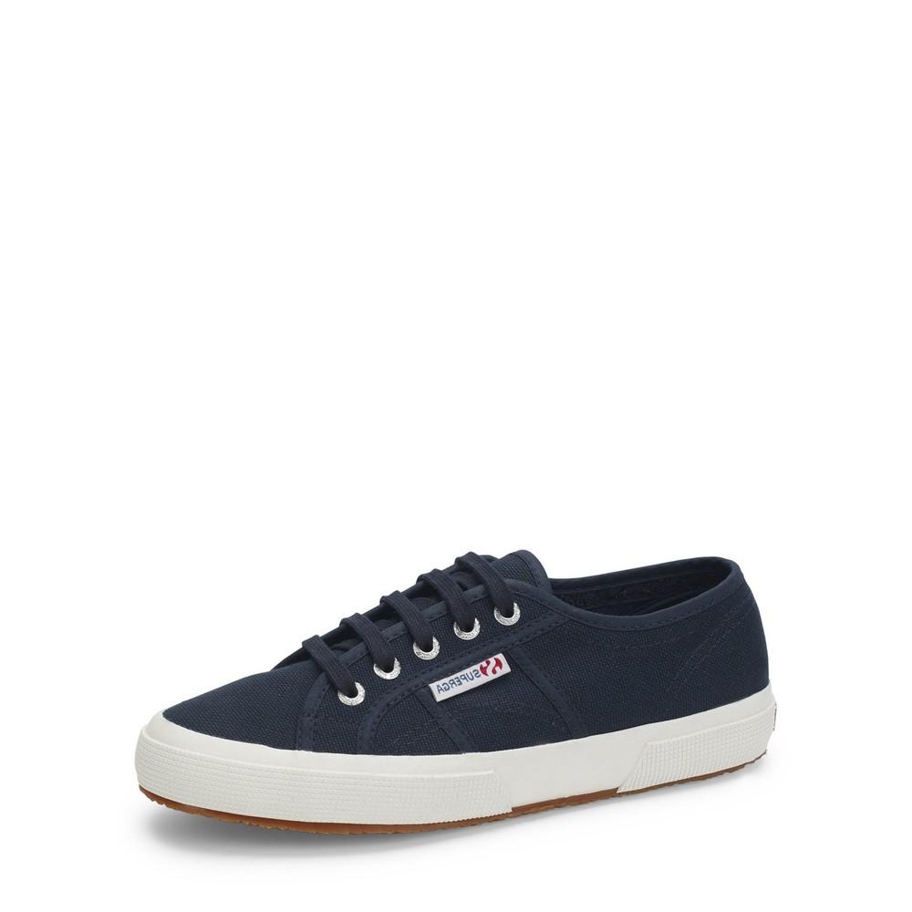 Superga Classic Navy 2750 Cotu Shoe Navy / White