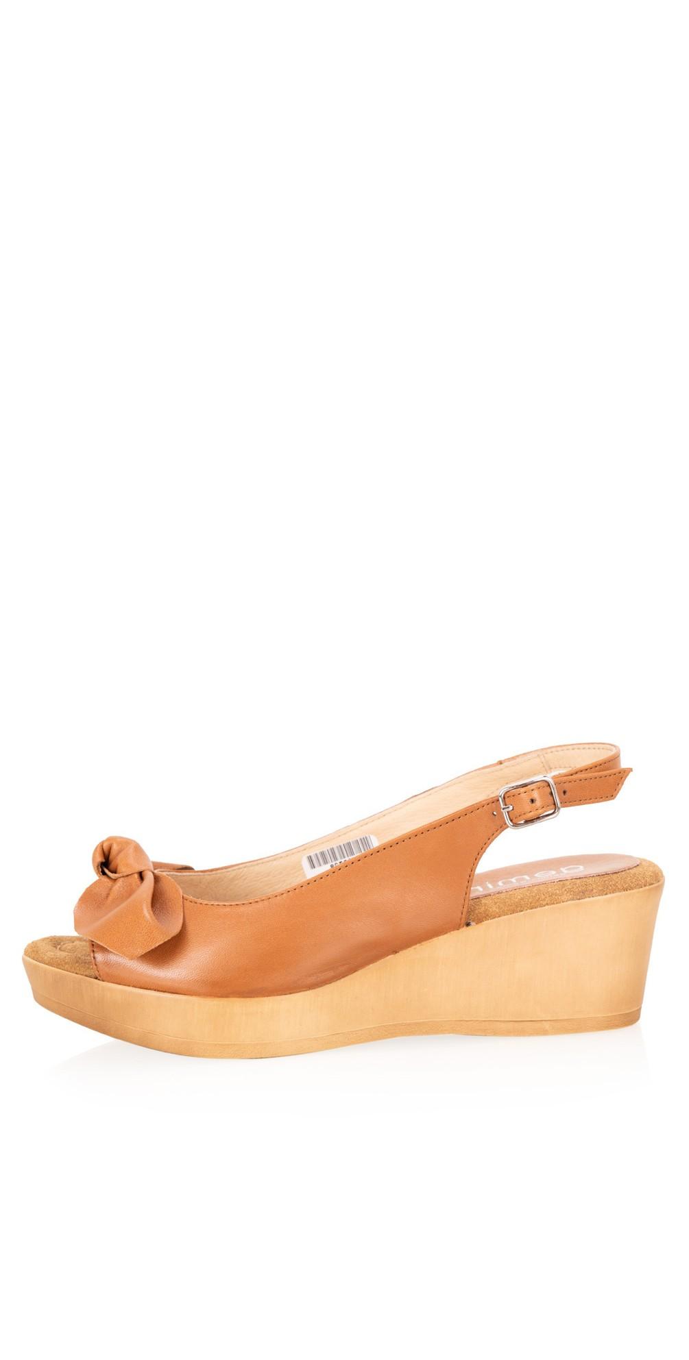 Bunny Leather Wedge Sandal main image