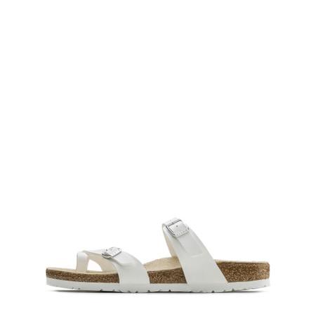 Birkenstock Mayari Birko-Flor Sandals - White