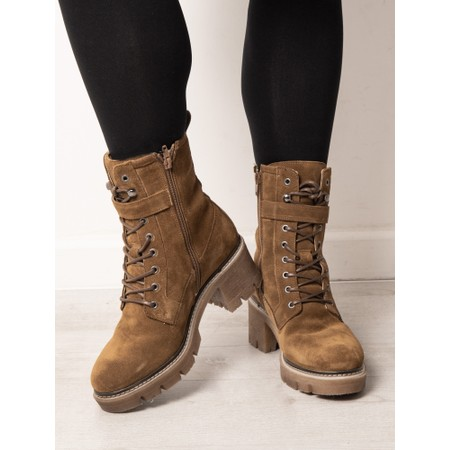 Tamaris  Liliana High Leg Hiker Boot - Brown