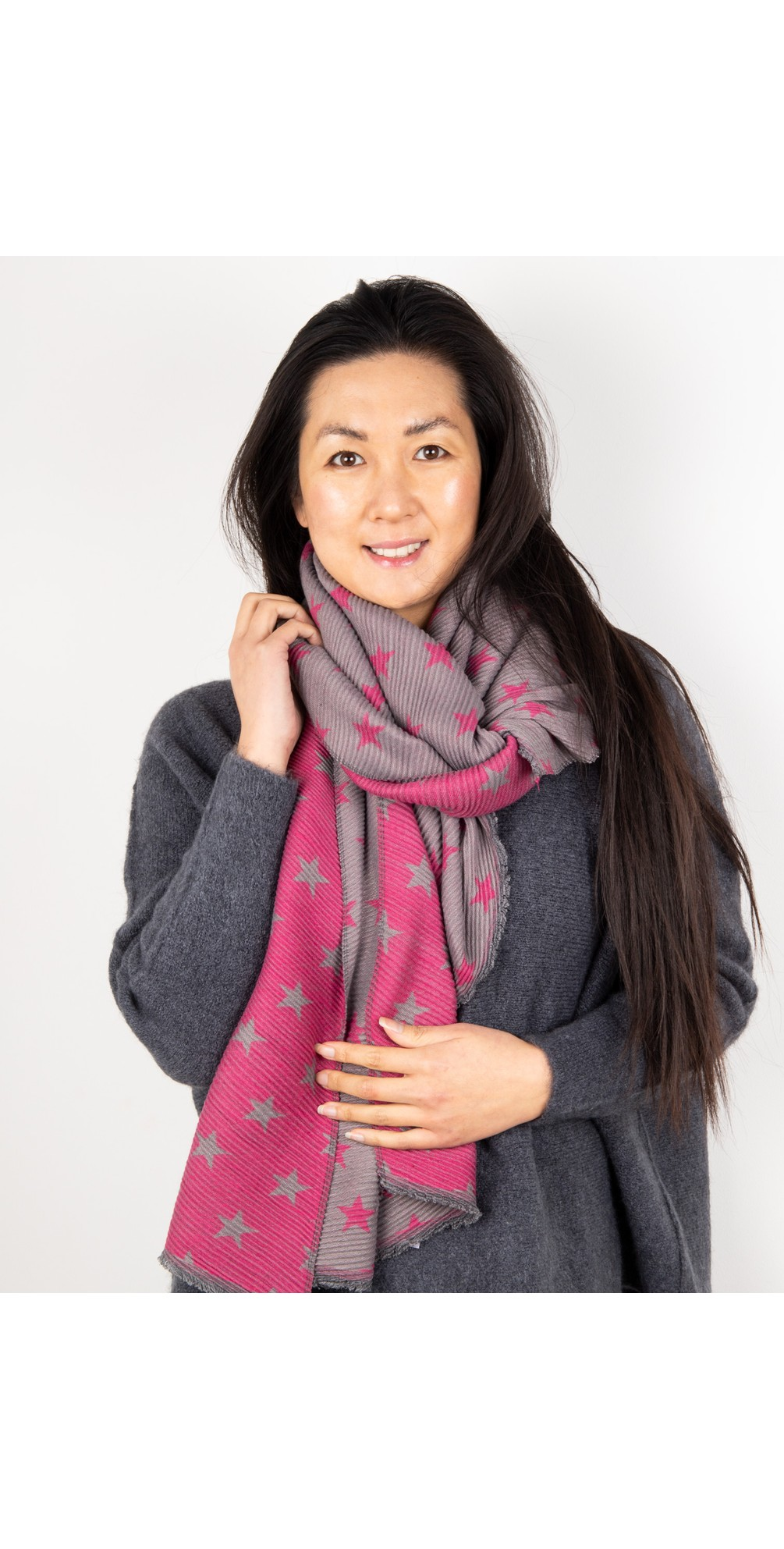 Revo Small Star Reversible Scarf main image