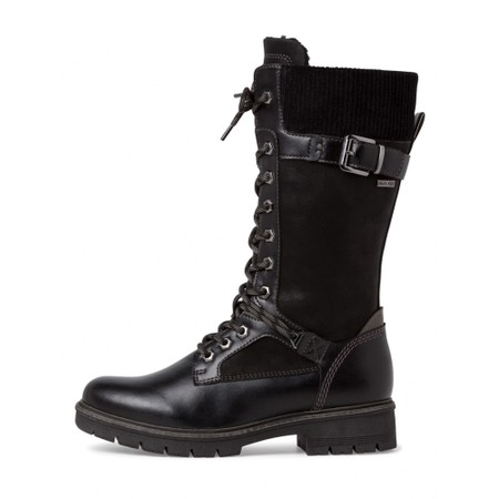 Tamaris Vina Tall Hiker boot - Black