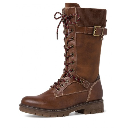 Tamaris  Vina Tall Hiker boot - Brown